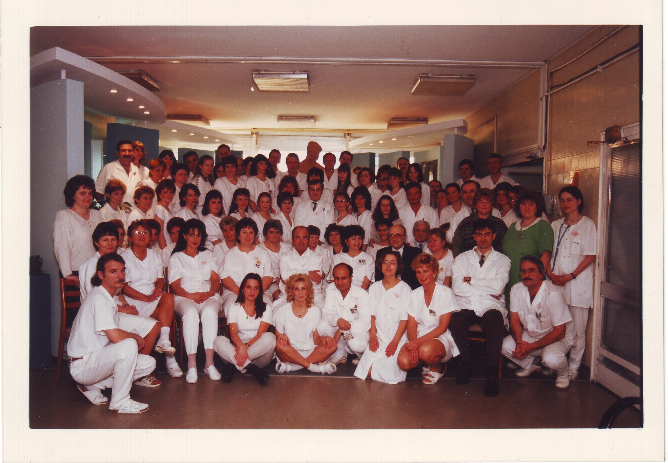 Szt.Margit Szülészteti és Nőgyógyászati Osztály dolgozói 1997